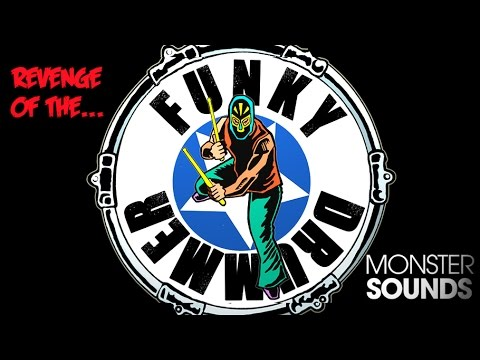 Revenge of the Funky Drummer - Live Funk Drum Samples & Loops - Monster Sounds