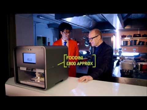 Adrian Edmondson & Richard Ayoade dine out: Gadget Man S03E07