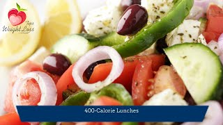 400 Calorie Meal | Healthy Lunches Under 400 Calories
