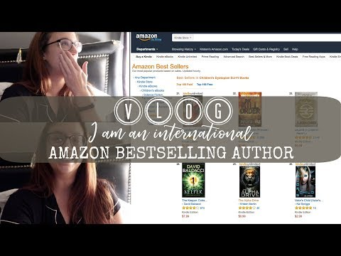 VLOG | I AM A BESTSELLING AUTHOR!!!