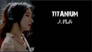 Lyrics David Guetta ft Sia Titanium J Fla cover