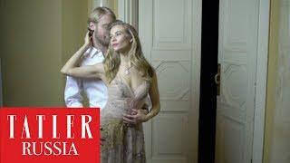 Светлана Устинова и Илья Стюарт репетируют свадебный танец