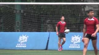 全港中學學界欖球賽小組賽2014 葵涌蘇浙  PART2