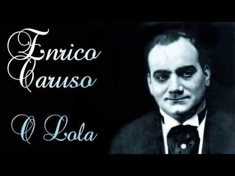 Enrico Caruso - O Lola ch'ai di latti la cammisa ('Siciliana') - 1905