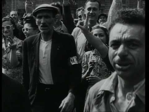 Rétro | Scènes dans Paris, été 1944 (archives)