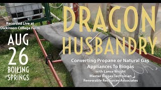Converting Propane and Natural Gas Appliances to Biogas