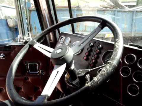 Kenworth K100 Aerodyne 8v92 Detroit Diesel Youtube
