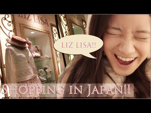 Shop with Kim in Japan! Liz Lisa Tour - Osaka MIO 大阪で買い物