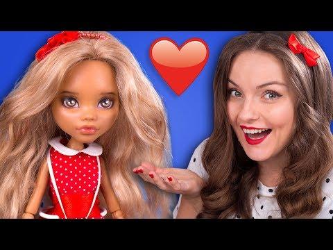 ДОМОВЫЕ СУЩЕСТВУЮТ?! ООАК-кукла Адриана Брауни / Дочь домовенка Кузи, обзор куклы, Custom MH,
