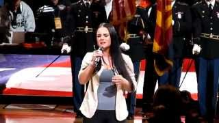 JoJo - USA National Anthem (Live at Clippers vs. Suns game)