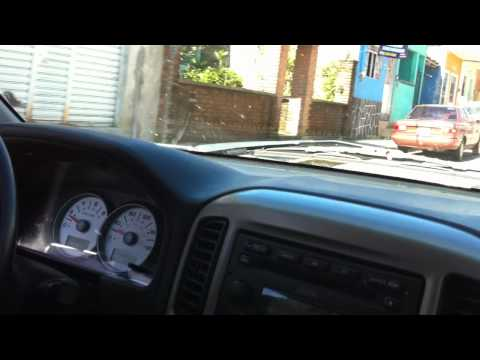 Drive to land site in Veracruz