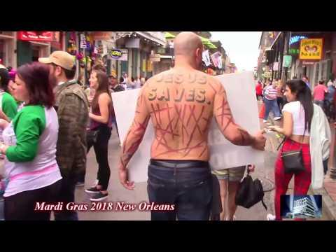 Mardi Gras FRENCH QUARTERS 2018