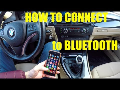 BMW e90 HOW TO connect to  bluetooth For beginners only !