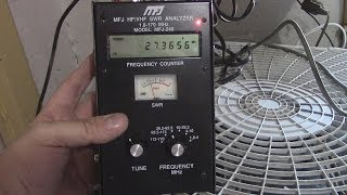 installing a k 40 cb antenna and using an analyzer on it azvlogger day 171 lifeinaz