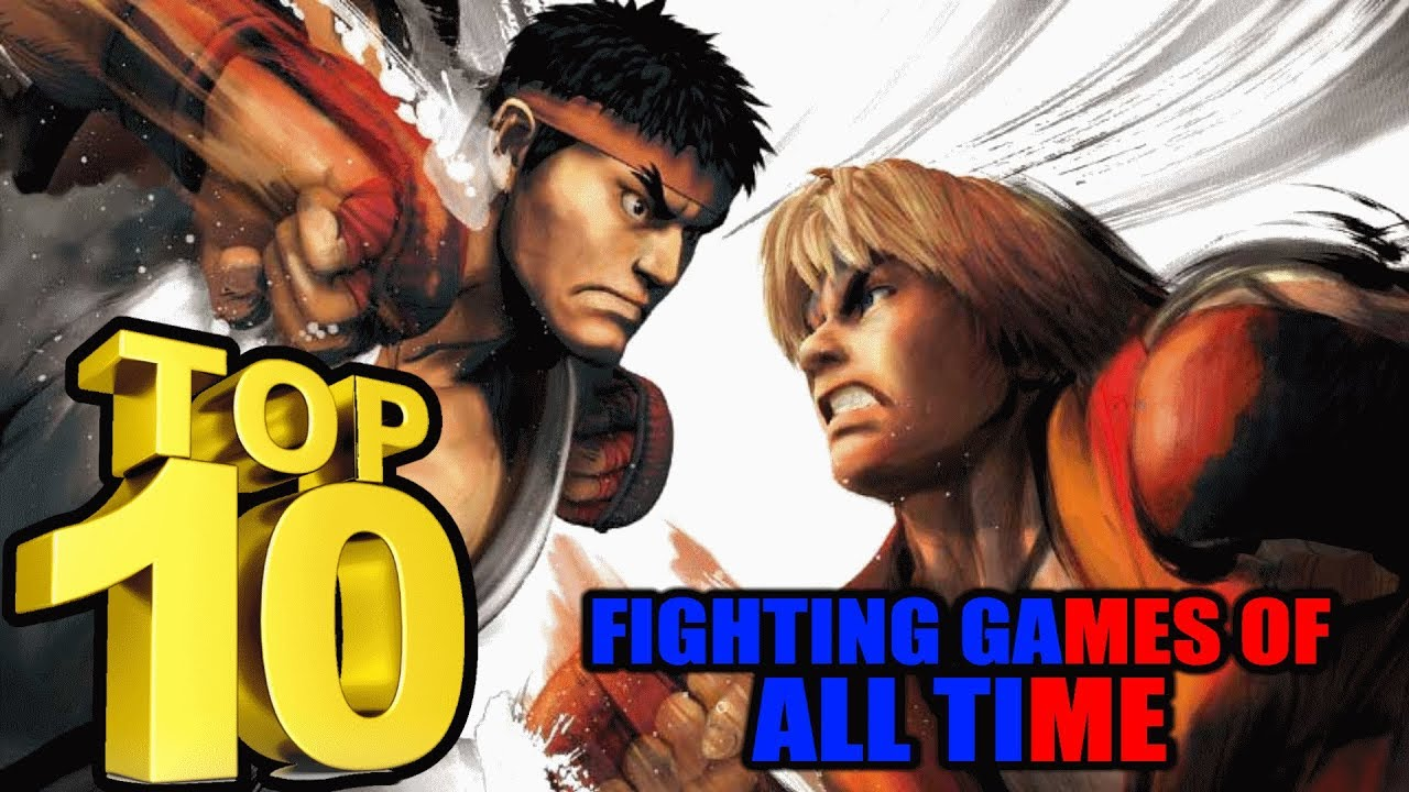 Top 10 Best Fighting Games Of All Time - TOP 10 SHOW - Lets FIGHT With These 10 Amazing Games