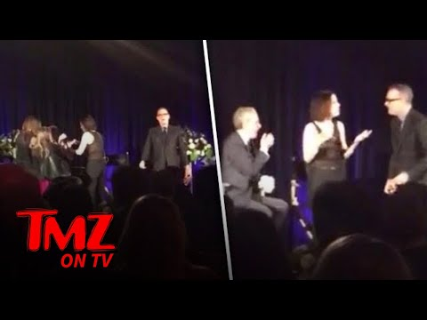 Tom Hanks & Mary-Louise Parker Navigate Bloody Mess Onstage!!! | TMZ TV