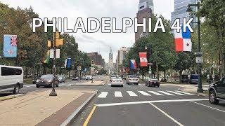 Philadelphia Drive 4K - Famous Rocky Steps