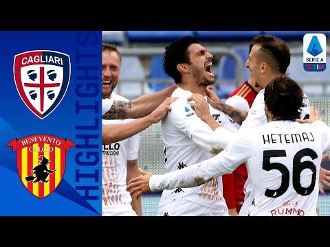 Cagliari 1-2 Benevento   Il Benevento rimonta il Cagliari in 3'   Serie A TIM