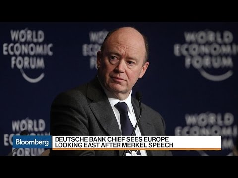 Deutsche Bank CEO Sees Europe Pivot East on Merkel