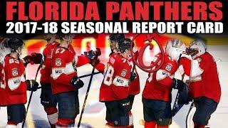 Florida Panthers Seasonal Report Card (2017-18