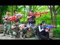 LTT Game Nerf War : Winter Warriors SEAL X Nerf Guns Fight Criminal Group Perfect Couple Swat