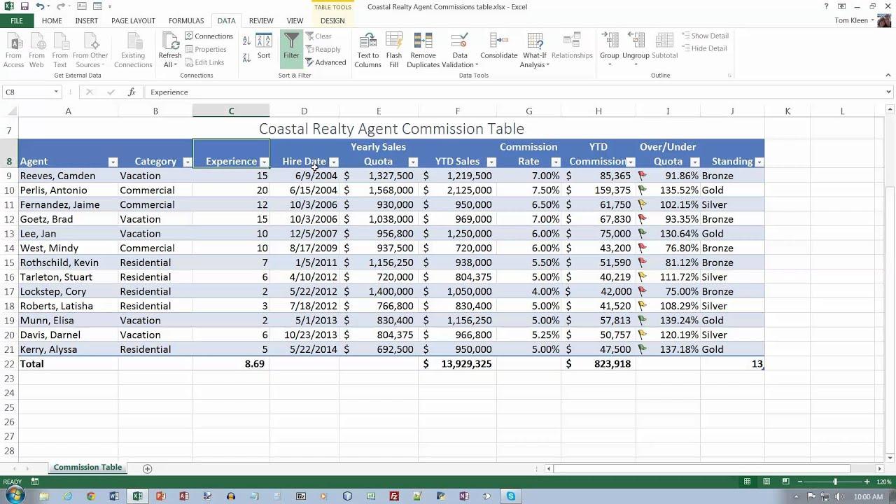 Excel Comprehensive Chapter 06 Part 3