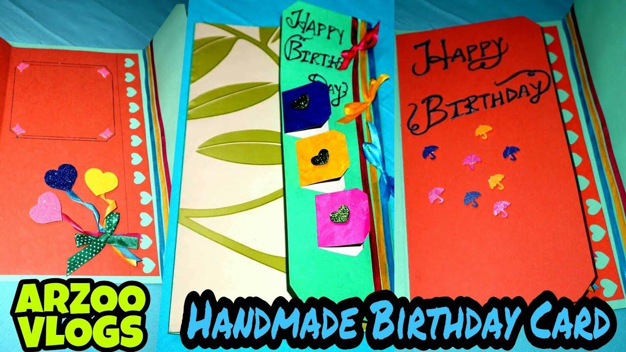 Diy Card Handmade Birthday Card For Best Friend Greeting Card
