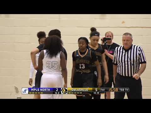 High School Girls Basketball: Minneapolis North vs. DeLaSalle