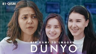 Download Bir kami to'lmagan dunyo (o'zbek serial) | Бир ками тўлмаган дунё (узбек сериал) 81-qism Mp3 and Videos