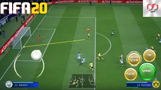FIFA 20 DELUXE MOD Android Offline 800MB PS4 Camera Best Graphics New Update Apk+obb