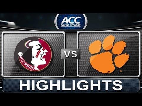 2013 ACC Football Highlights | Florida State vs Clemson | ACCDigitalNetwork