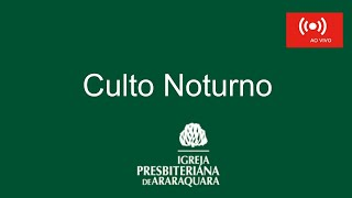 "Culto Noturno - ""Emocional""  Salmos 57. 1-11- Rev. Alexandre Magri"
