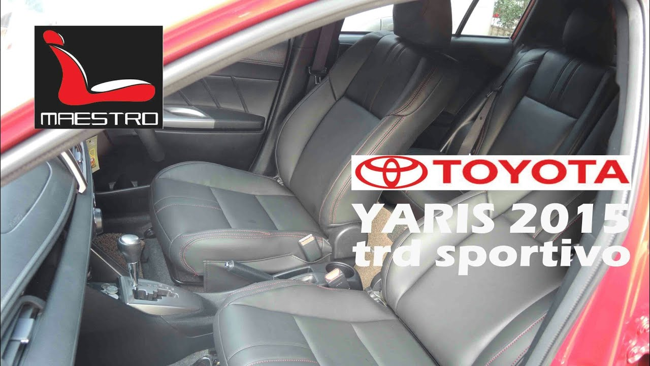 Jok All New Yaris Trd Agya 2018 Interior Sporty Toyota Sportivo 2015 Youtube