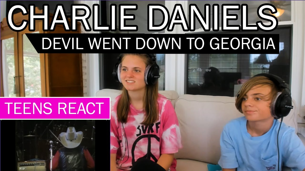 Teens Reaction - Charlie Daniels ( Devil Went Down To Georgia )
