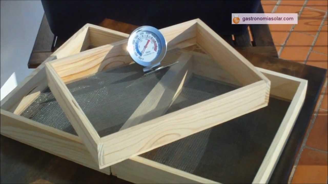 Horno solar  Deshidratador de alimentos  YouTube