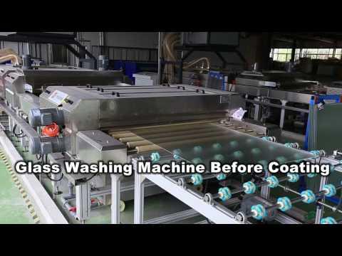 Solar Glass Production Line  PUYU MACHINERY