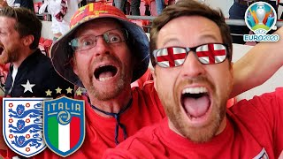 ENGLAND vs ITALY : EURO 2020 FINAL - PENALTY DRAMA & BIGGEST GAME OF MY LIFE!