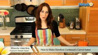How To Make Barefoot Contessa's Carrot Salad