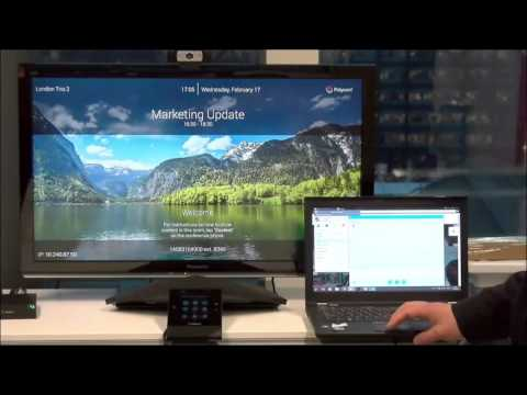 Polycom RealPresence Trio 8800 Wireless Content Sharing
