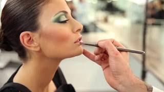 Maquillaje Beauty - Making of   Escuela de Maquillaje Aarón Blanco III