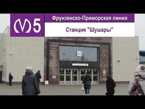 """Станция метро """"Шушары"""""""