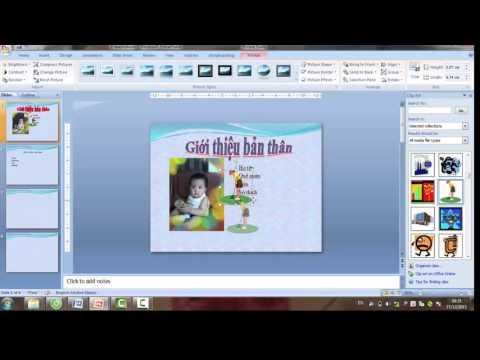 Học PowerPoint - Bài 2: Chèn ảnh, chữ nghệ thuật, nhạc, video vào Powerpoint