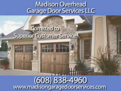 Madison Overhead Garage Door Mc Farland Wi Youtube