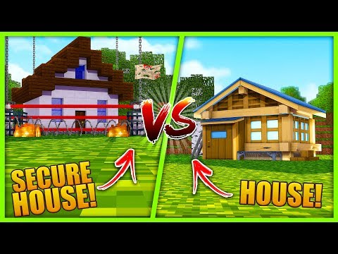 MOST SECURE BASE CHALLENGE - HOUSE VS HOUSE w/ Scuba Steve