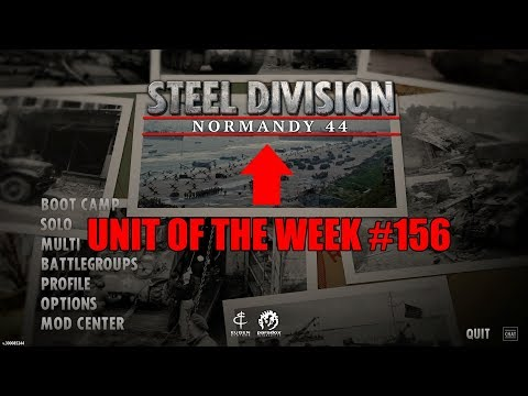 [3 Year Anniversary] Unit of the week #156 (Steel Division: Normandy 1944) |
