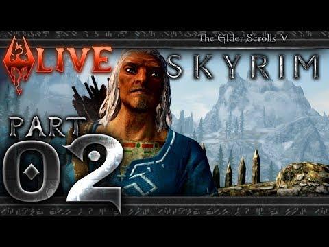The Elder Scrolls V: Skyrim w/ Link's Set - Part 2 - LIVE (Nintendo Switch)