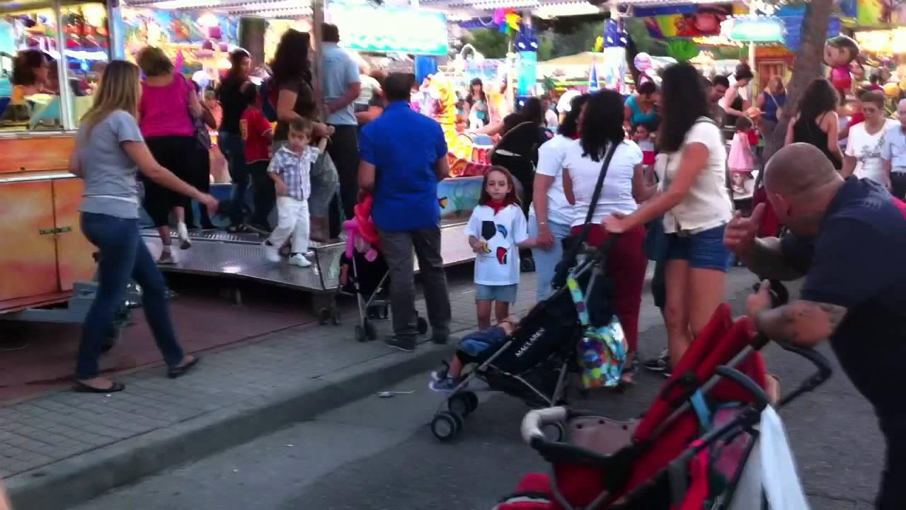 La Feria En Las Fiestas De San Sebastián De Los Reyes Youtube
