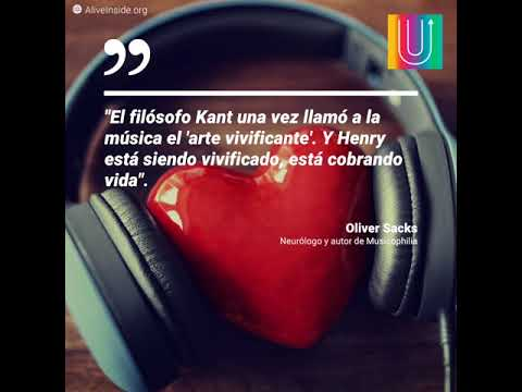 El inmenso poder de la música.