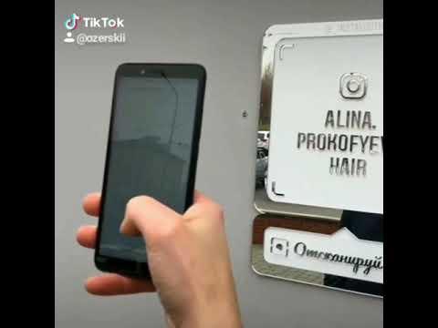 Инста визитка / Инста метка / Инста сканер