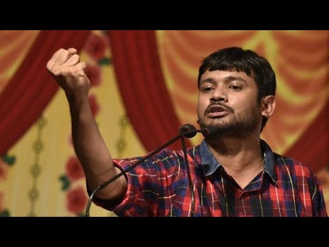 Last political speech of JNU president Kanhaiya Kumar